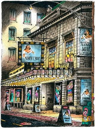 Mamma Mia at The Royal Alexandra Theatre