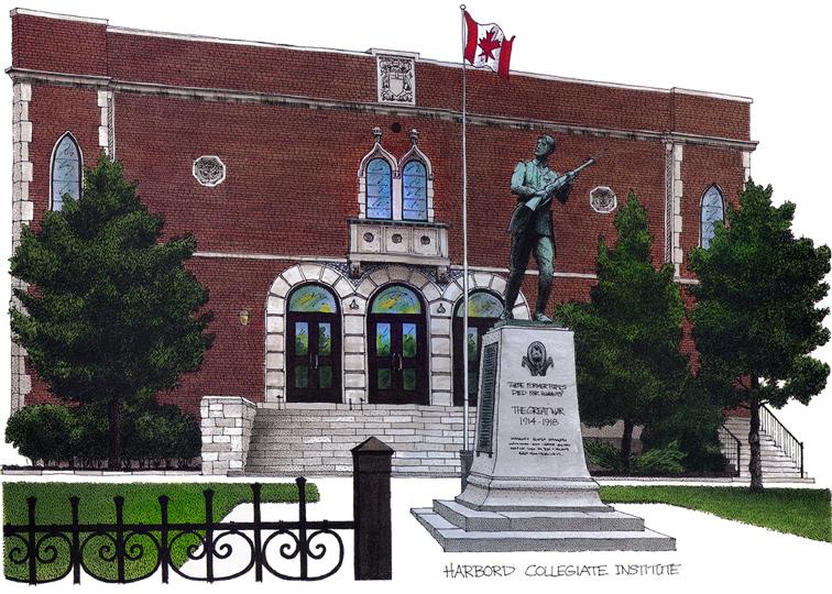 Harbord Collegiate. Toronto